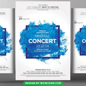 Concert Flyer Psd Template Free Download