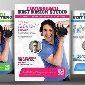 Photography Flyer Design Psd Template Download