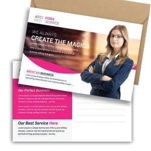 Free Dental Clinic Postcard Psd Template
